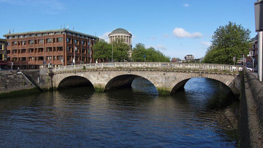 1024Px Dublin  Father Mathew Bridge  110508 182542