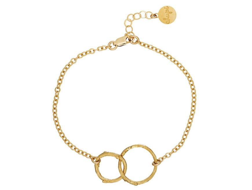 Chupi Print Gold Bracelet Just The Two Of Us Twigs