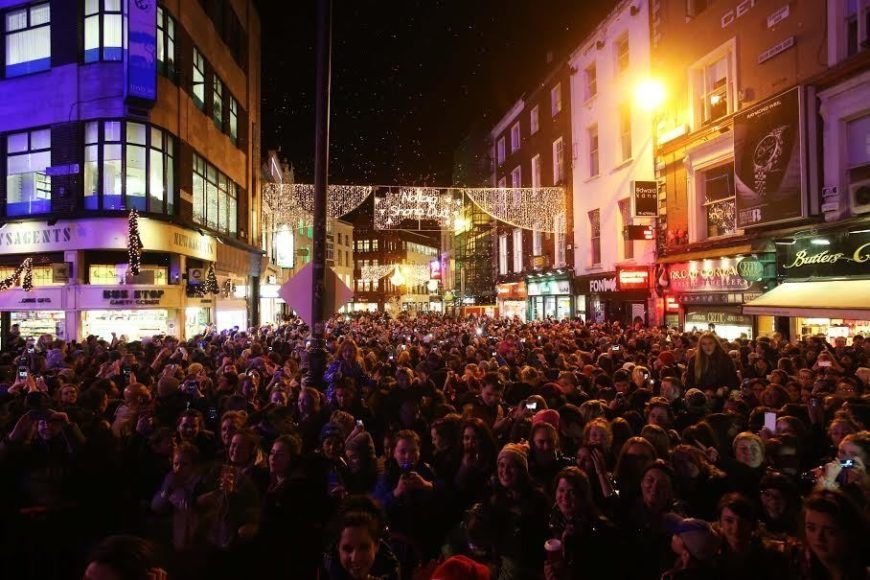 Here S When Grafton Street Christmas Lights Will Turn On