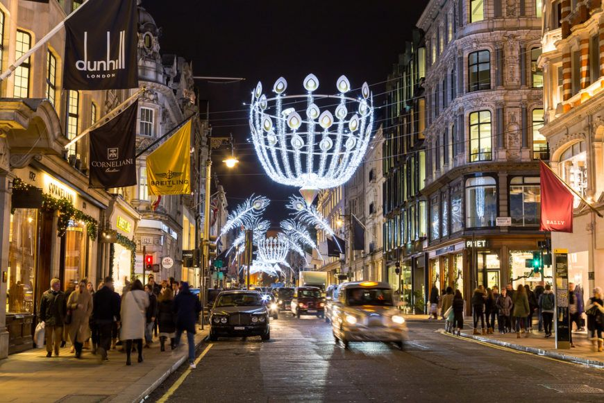 New Bond Street London