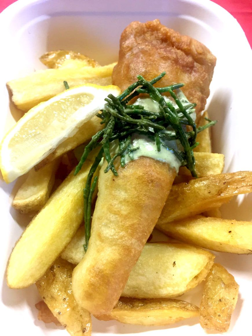Veginity At Eatyard Cassava Flake And Triple Cooked Chips