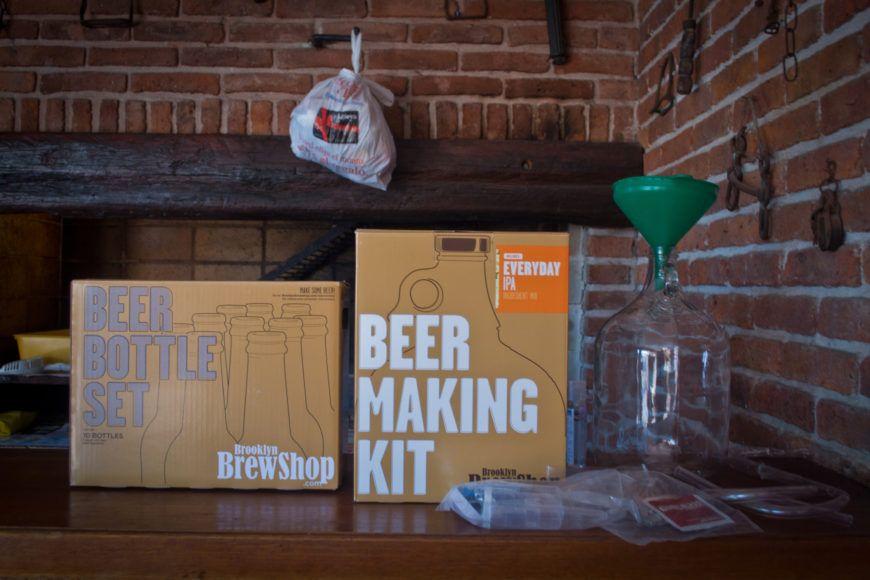 Brew Kit Bottle Set