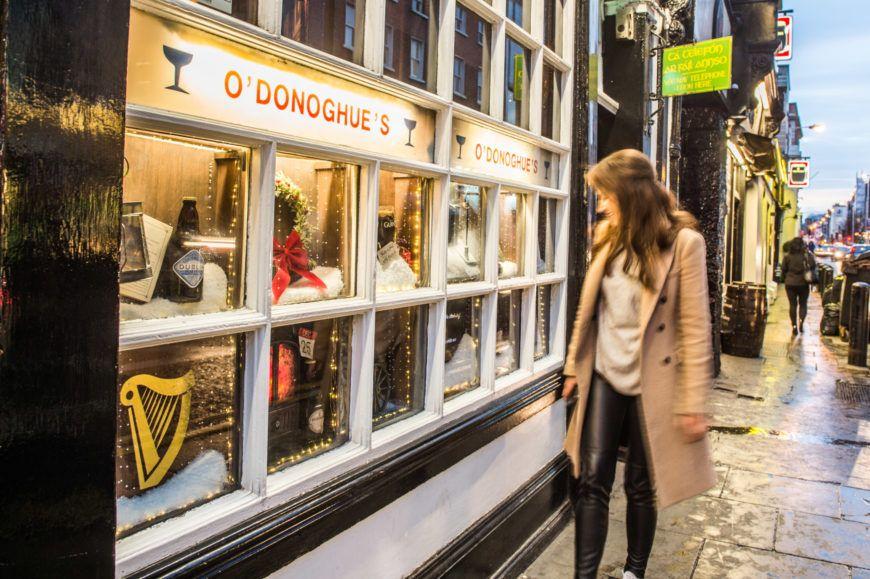 Guinness Christmas Display At O Donoghues 2