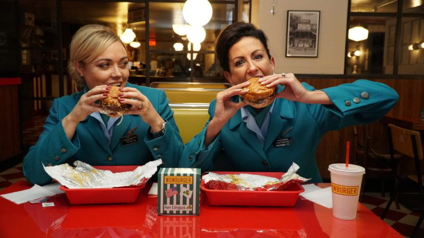 Aer Lingus Cabin Crew Claire Broughan And Jane Curtin 4