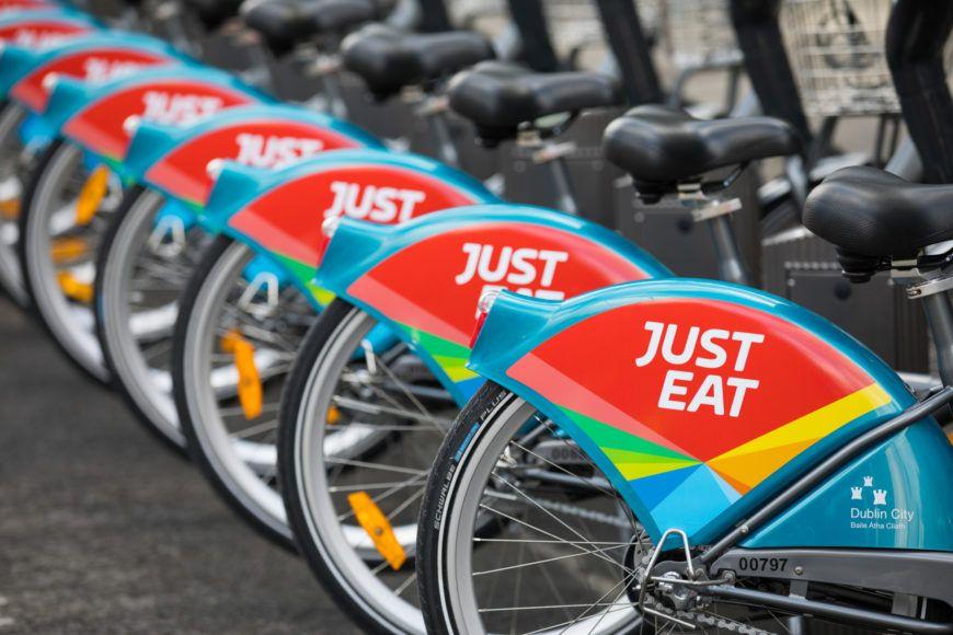 Just Eat New Dublinbikes Commercial Partner 1