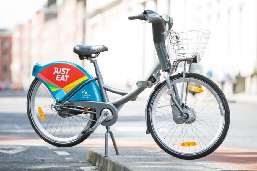 Just Eat New Dublinbikes Commercial Partner 2
