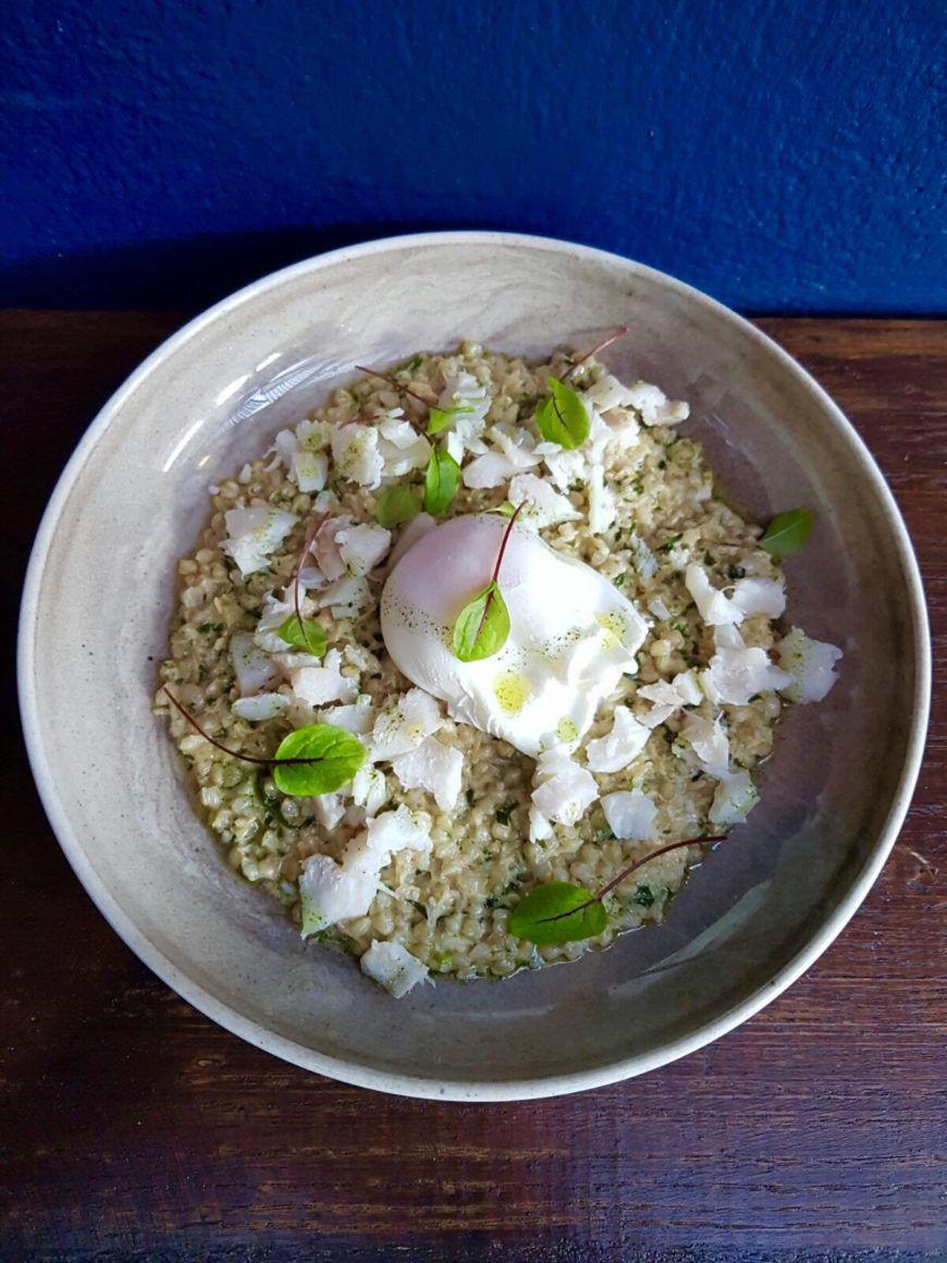 Crab Haddock Buckwheat Porridge