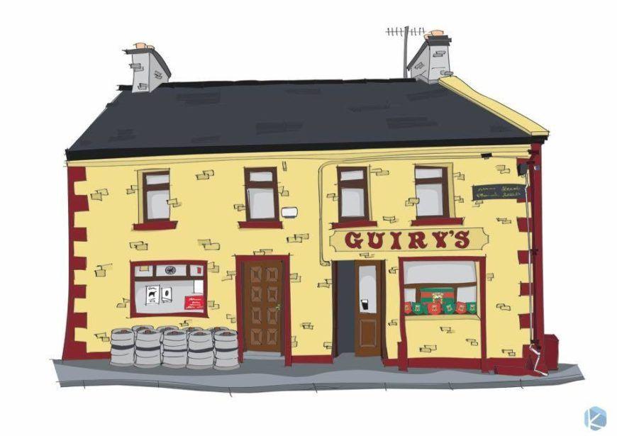 Guirys Pub Foxford Mayo