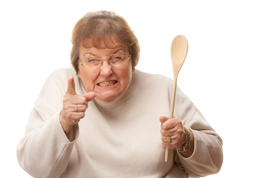 Wooden Spoon Mammy
