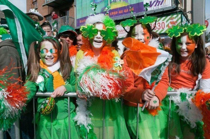 St Patricks Day Parade In Dublin