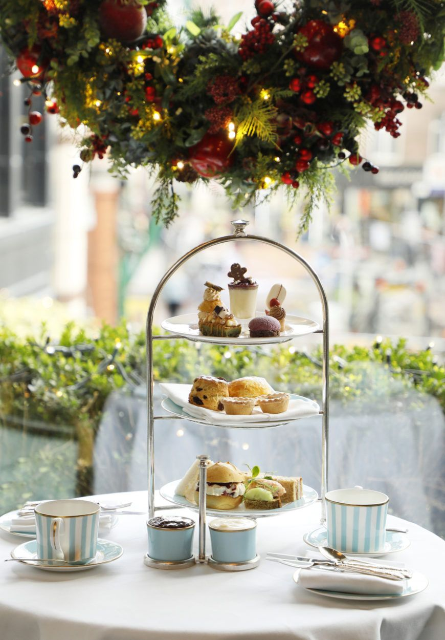 Festive Afternoon Tea At The Westbury