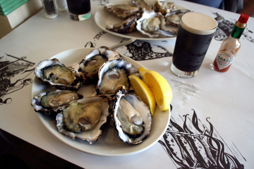 Oyster Stout Stock Image