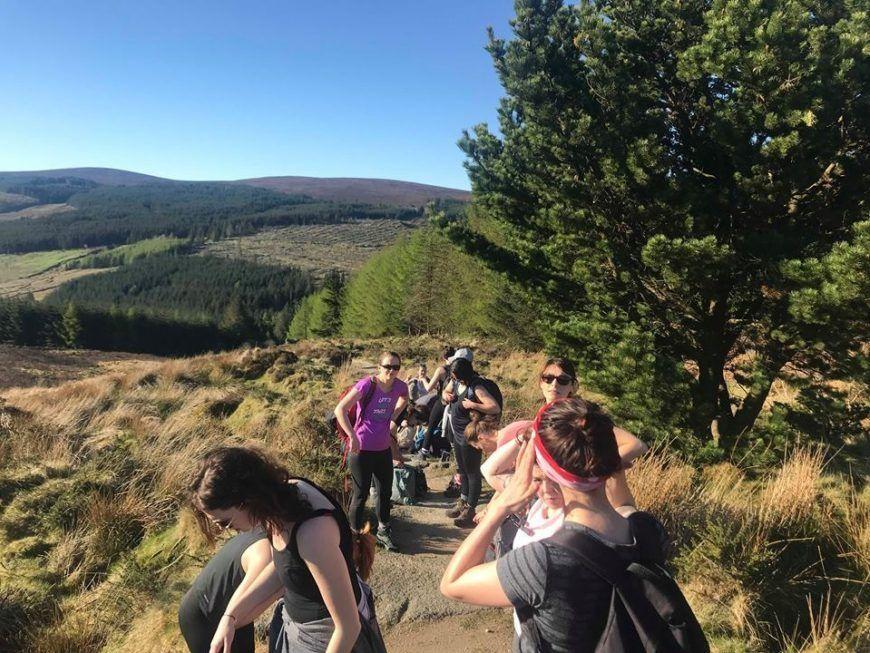 Galz Gone Wild Hike 1