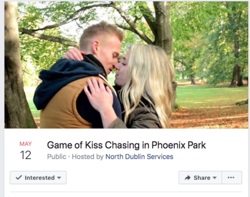 Kiss Chase Page