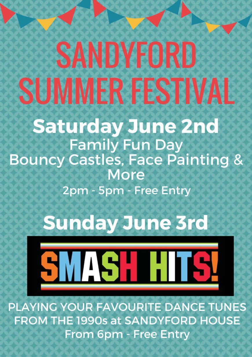 Sandyford Summer Festival Poster