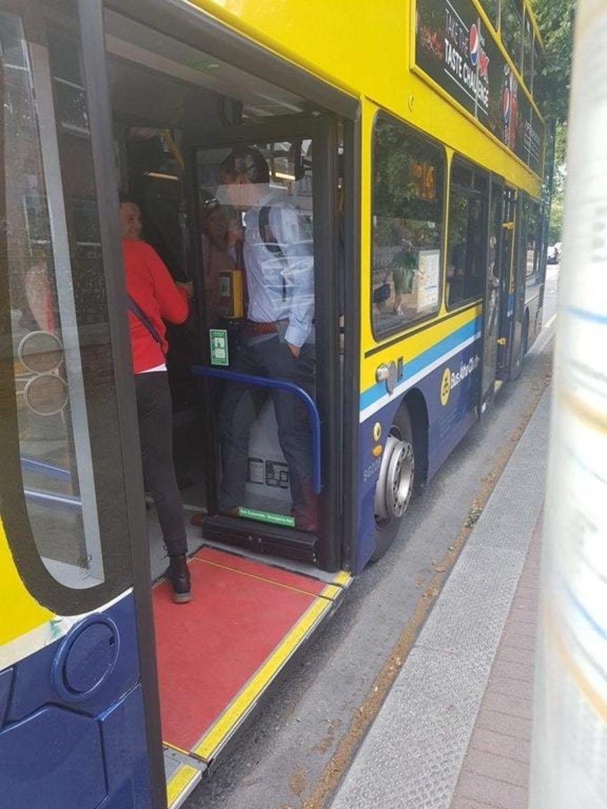 Dublin Bus Squashed