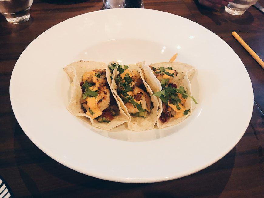 Crow St Shrimp Tacos