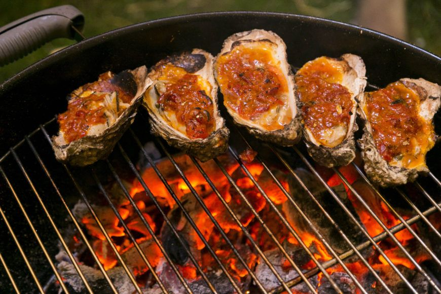 The Big Grill Oysters