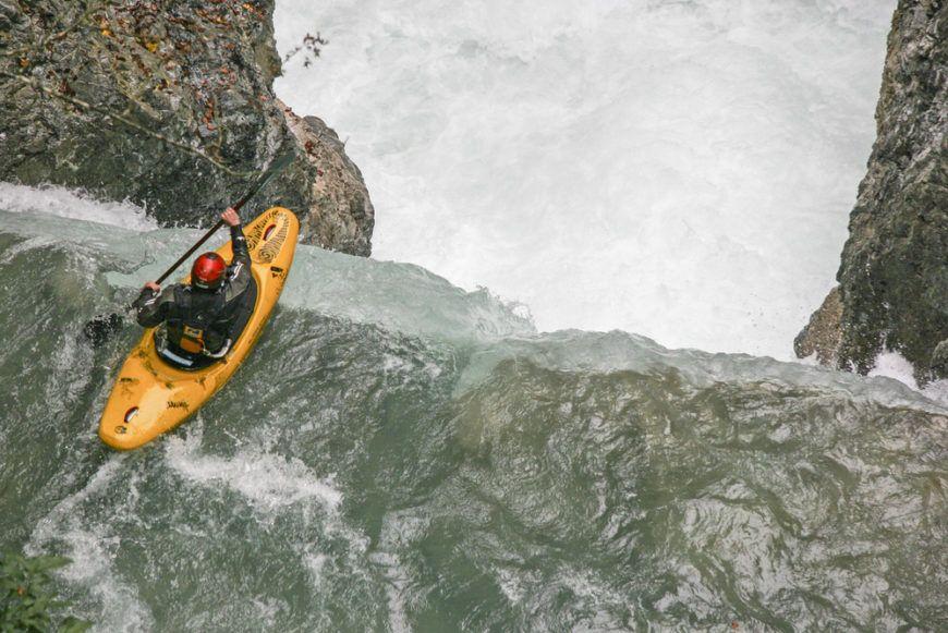 Waterfall Kayaking