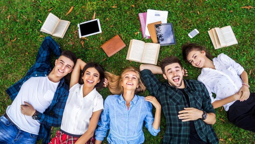 College Students Fun