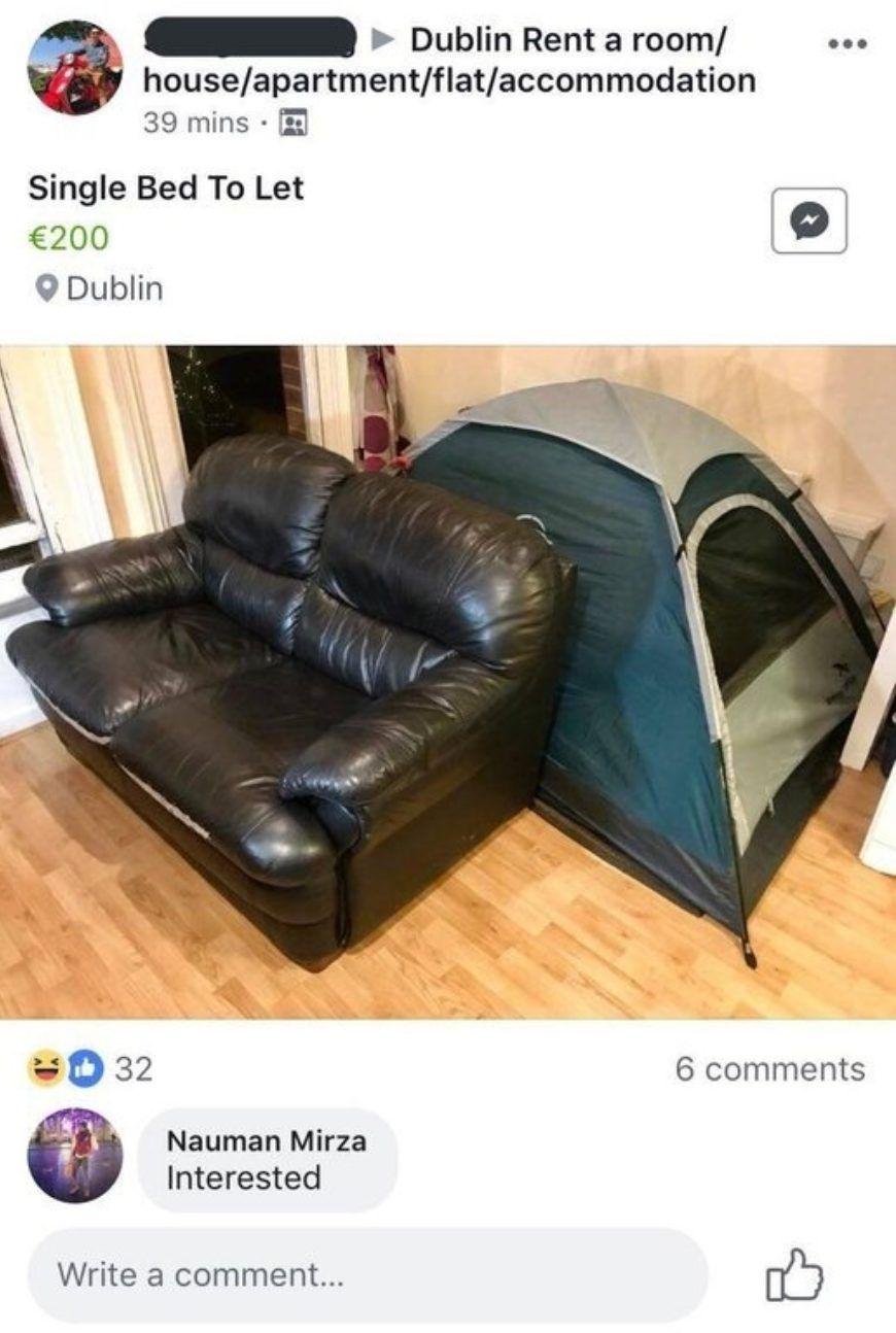 Dublin Rent Tent 1