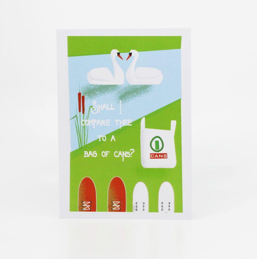 Bag Of Cans Valentines Card 1 Designist Hr