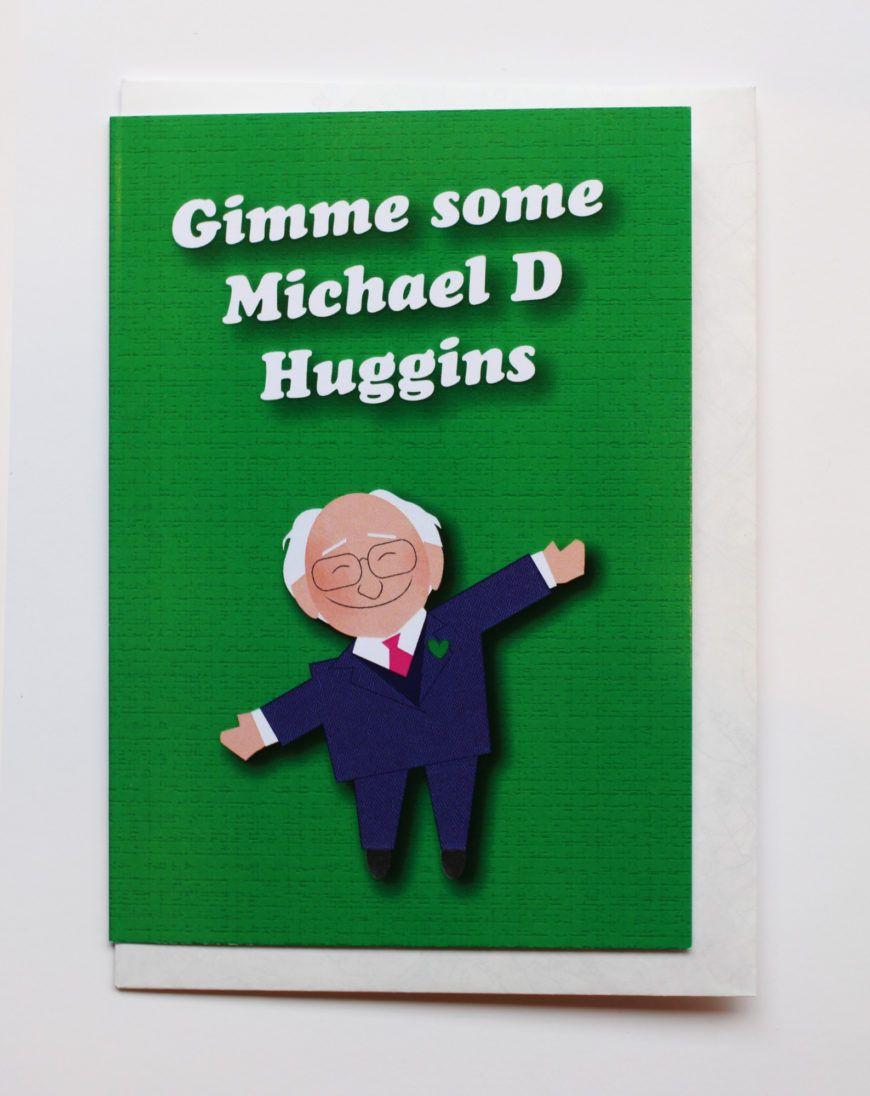 Give Me Some Michael D Huggins Valentines Card Designist Hr