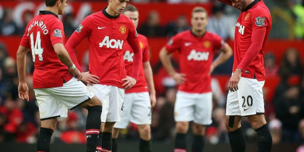 Man Utd lose €265m in stock ma...