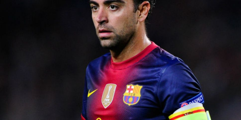Is Xavi on his way out of Barc...