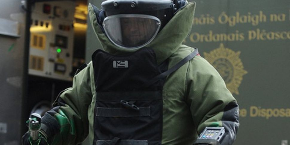 Man questioned over Lucan bomb...