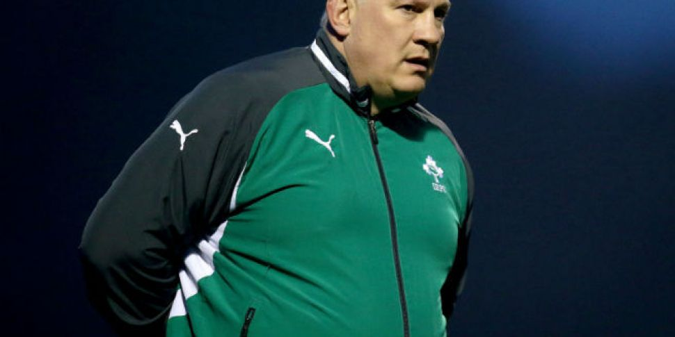 Mike Ruddock steps down as Ire...