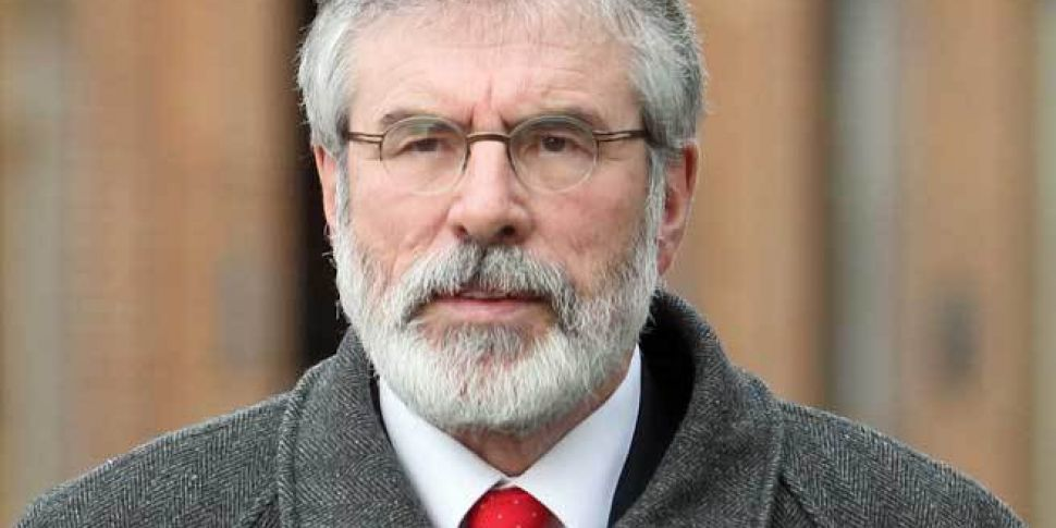 ANALYSIS: What did Gerry Adams...
