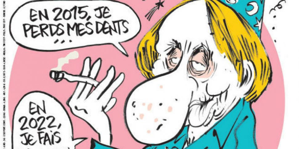 Charlie Hebdo copies selling f...