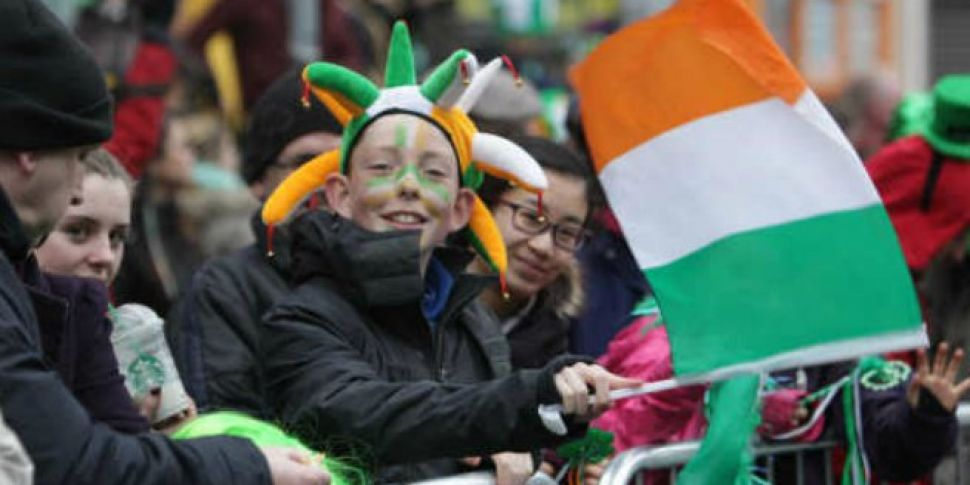 Watch: St Patrick's Day pa...