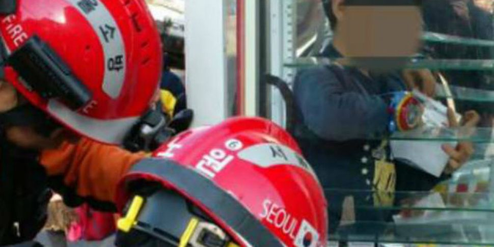 Young boy rescued after gettin...