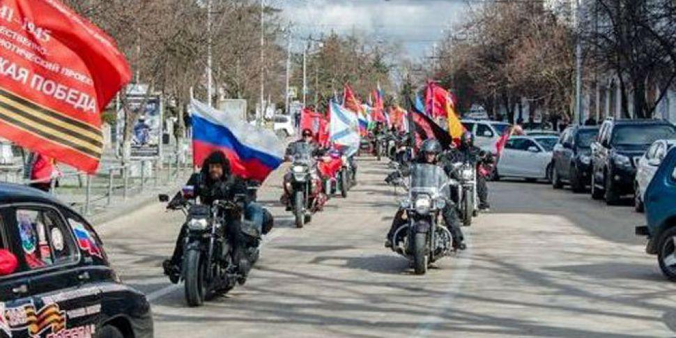 Pro-Putin biker gang sparks an...