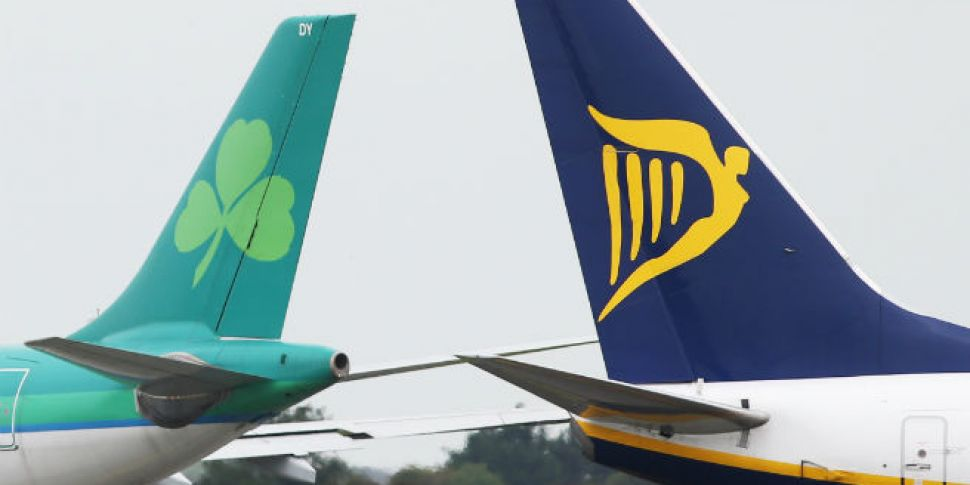 Flights to Ireland on the rise...