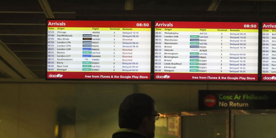 Dublin Airport works to clear...