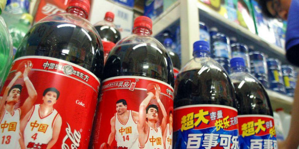 Coca Cola leads the fight-back...