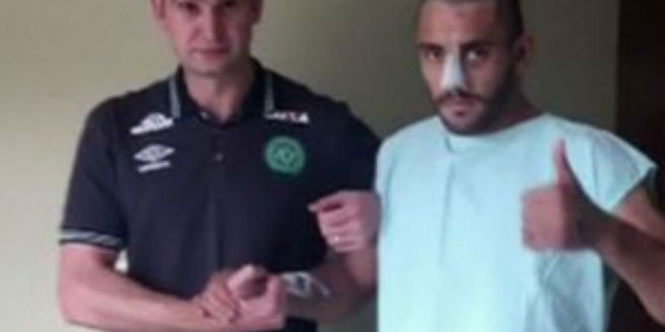 Chapecoense Crash Survivor Alan Ruschel Thanks Well Wishers In