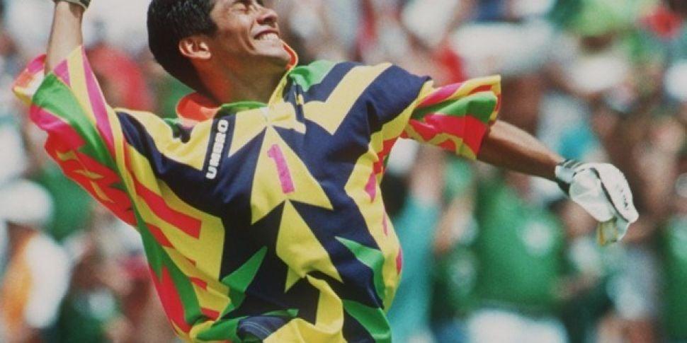Random Ex Footballer Of The Week Special Jorge Campos Newstalk