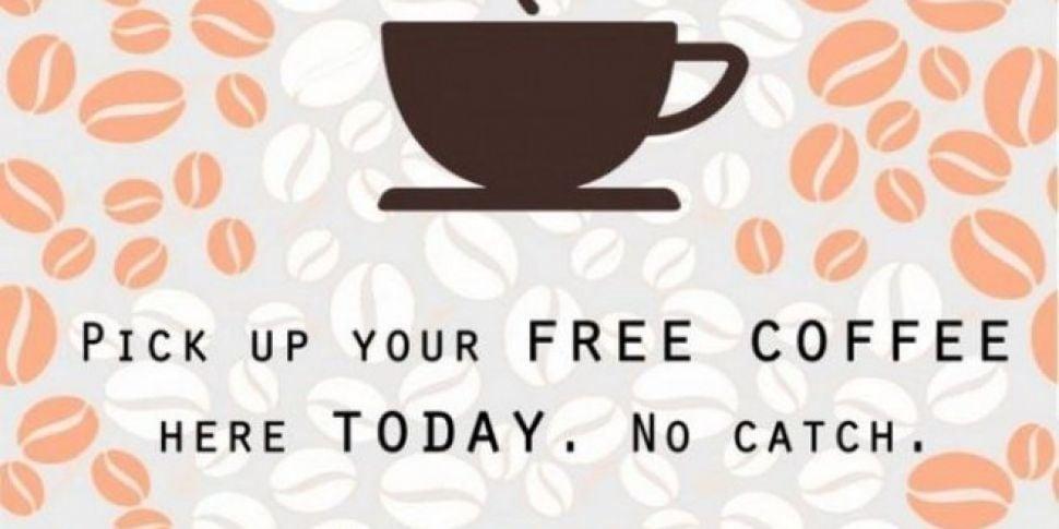 WATCH: Dublin's free coffe...