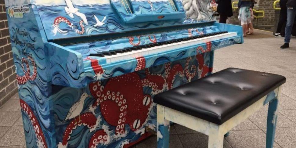 WATCH: Piano in Dublin&#39...