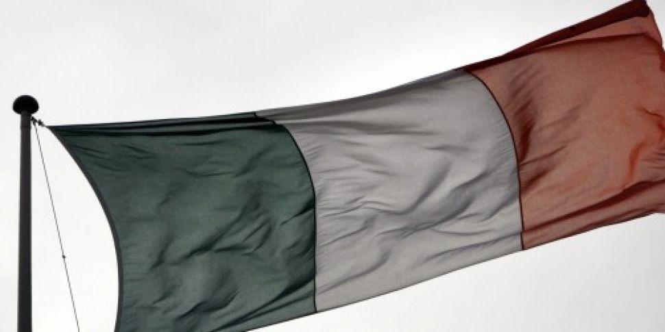 Irish Tricolour marks 170th an...