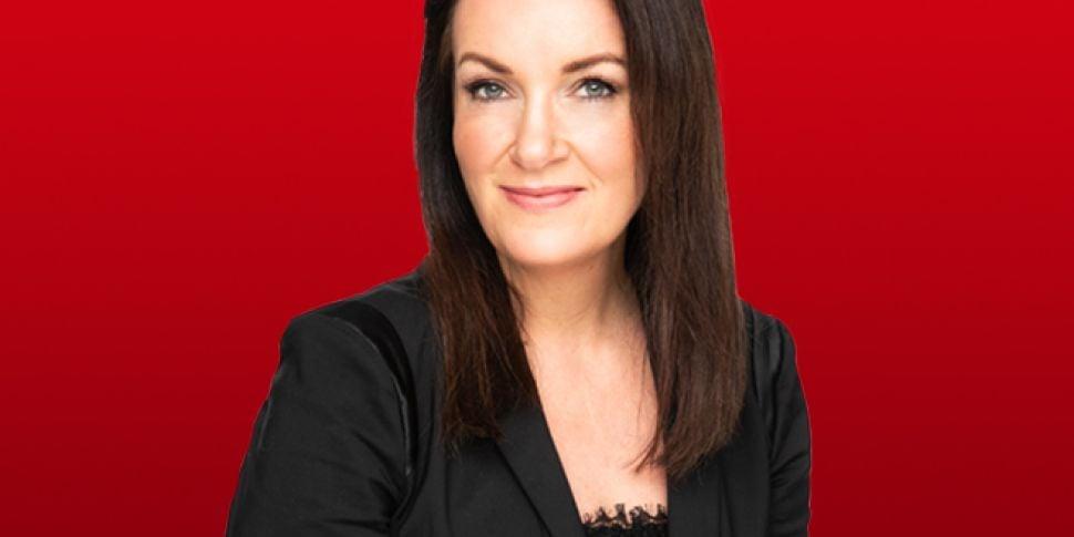 Newstalk presenter Ciara Kelly...