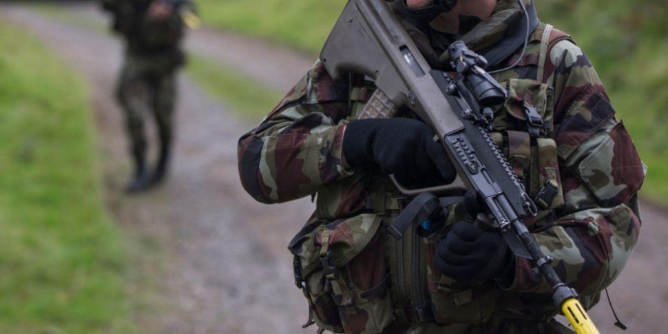 Irish troops to join EU battle...