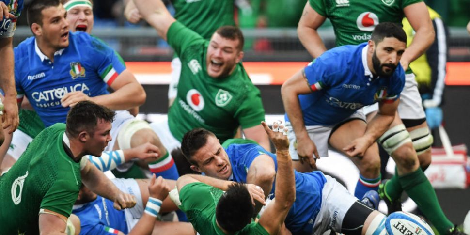 Ireland and Italy game to be r...