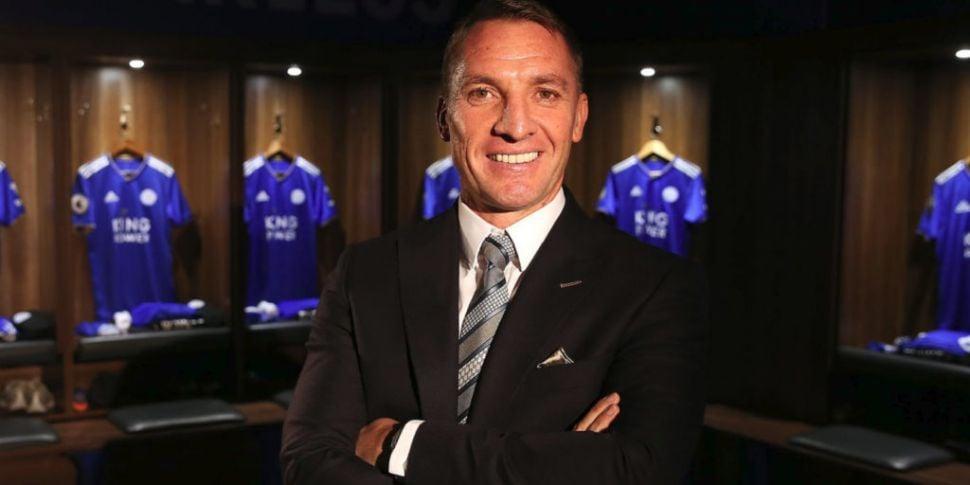 Leicester boss Brendan Rodgers...