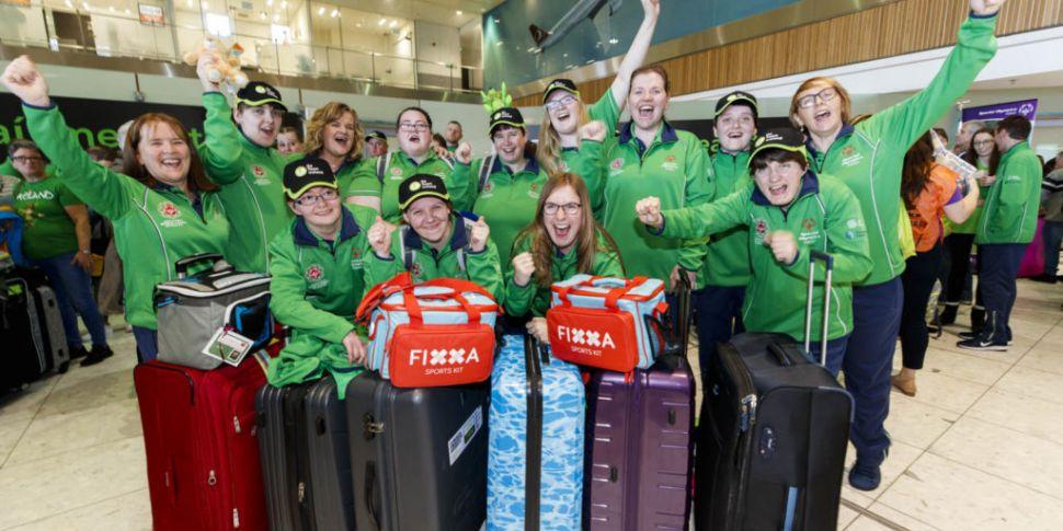 PICTURES: Team Ireland depart...