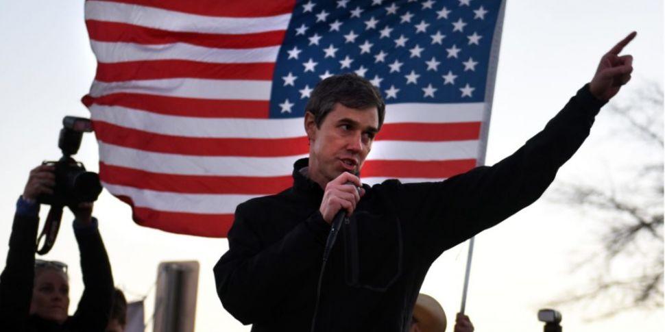 Texas politician Beto O'Rourke...